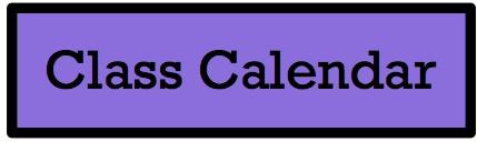 Class Calendar Button